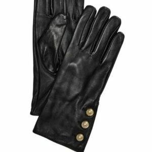 Michael Kors   Touchscreen Leather Gloves